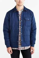 Cpo Cassette Quilted Jacket Navy