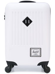 Herschel Supply Co. 'Trade Luggage' Carry On Suitcase Unisex Plastic One Size White
