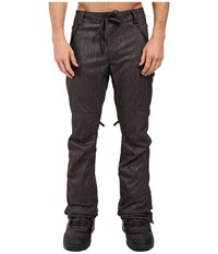 686 Parklan Triple Black Pants Black Denim Men's Casual Pants