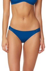 Red Carter Women's Macrame Bikini Bottoms