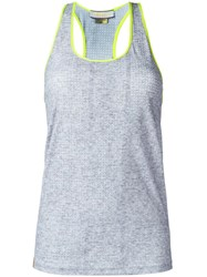 Monreal London 'Racerback' Tank Top Grey
