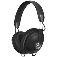 Panasonic Htx80be Bluetooth Wireless Over Ear Headphones With Mic Remote Black