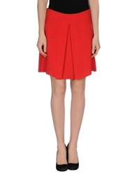 Mauro Grifoni Knee Length Skirts Red