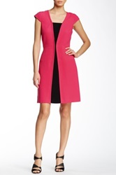 Yoana Baraschi Purist Blocked Dress Pink