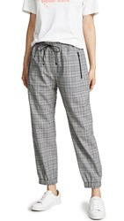 Milly Jogger Pants Check
