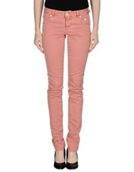 Siviglia Denim Casual Pants Pastel Pink