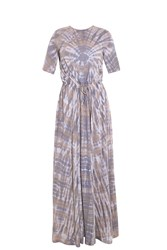 Raquel Allegra Drawstring Maxi Dress
