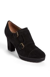 Women's Anyi Lu 'Nancy' Bootie Black Suede
