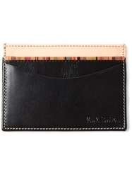 Paul Smith Engraved Cardholder Black