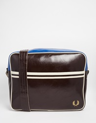 Fred Perry Classic Messenger Bag Brown