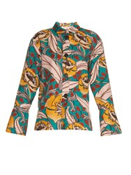 Marni Bellwoods Print Cotton And Linen Blend Jacket