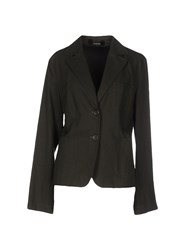 Caractere Suits And Jackets Blazers Women Dark Green