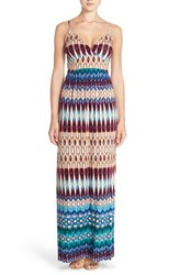 Women's Felicity And Coco Floral Print Jersey Maxi Dress Nevada Ikat