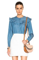 M.I.H Jeans Niki Top In Blue