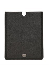 Dolce And Gabbana Dauphine Leather Ipad 2 Holder