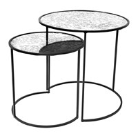 Broste Copenhagen Stends Table Black Set Of 2