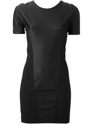 Adidas Slvr Fitted Panel Dress Black
