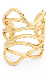 Oscar De La Renta Women's Modern Wave Bangle