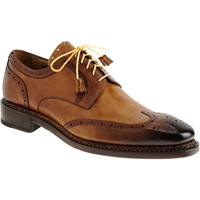 Harris Wingtip Blucher Brown Yellow