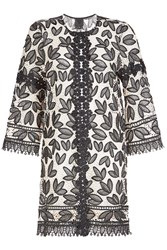 Anna Sui Lace Applique Coat