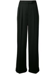 Dkny Two Tone Trousers Black