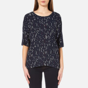 Samsoe And Samsoe Women's Marni Top Etoile Blue