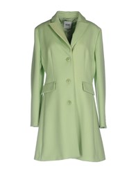 Moschino Cheap And Chic Coats Light Green