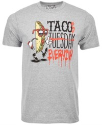 Univibe Taco Tuesday T Shirt By Med Gray
