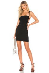 By The Way Kathleen Strappy Mini Dress Black