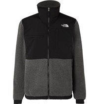 The North Face Denali 2 Panelled Fleece And Shell Jacket Gray