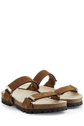 Dsquared2 Suede Sandals Brown