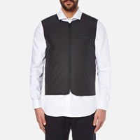 Folk Men's Wadded Gilet Black