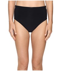 Magicsuit Solids Jersey Classic Brief Black Women's Swimwear