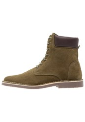 Pier One Laceup Boots Khaki