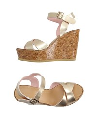 Fornarina Footwear Sandals Women Gold