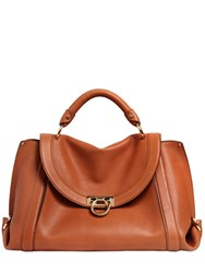 Salvatore Ferragamo Large Suzanna Soft Leather Bag