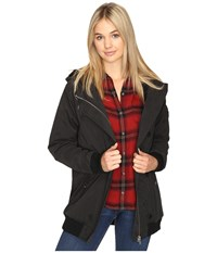 Obey Stryker Jacket Black Women's Coat