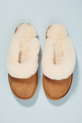 Anthropologie Emu Jolie Slippers Honey