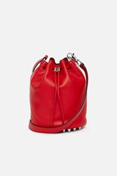 Alexander Wang Alpha Soft Bucket Cult Smooth Shiny Bag