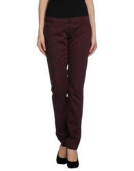 Brian Dales Casual Pants Deep Purple