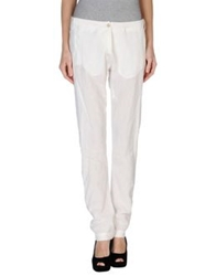 Masnada Casual Pants White