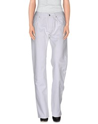 Two Women In The World Trousers Casual Trousers Women White