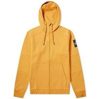 The North Face Fine 2 Full Zip Hoody Yellow