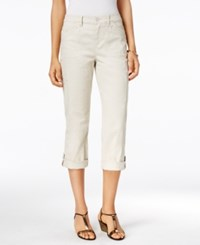 Styleandco. Style Co. Cropped Cargo Pants Only At Macy's Beige
