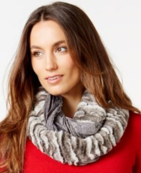 Collection Xiix Mix Media Jam Angelica Faux Fur Loop Scarf