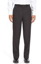 Linea Naturale Wrinkle Free Micro Twill Pants Black