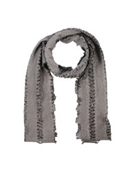 Gazzarrini Oblong Scarves Lead