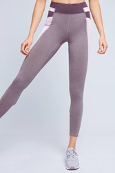 Anthropologie Slated Colorblock Leggings Grey Motif