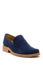 Oliver Sweeney Leiston Navy Loafer Blue