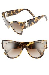 Marc Jacobs Women's 54Mm Oversized Sunglasses Glitter Havana
